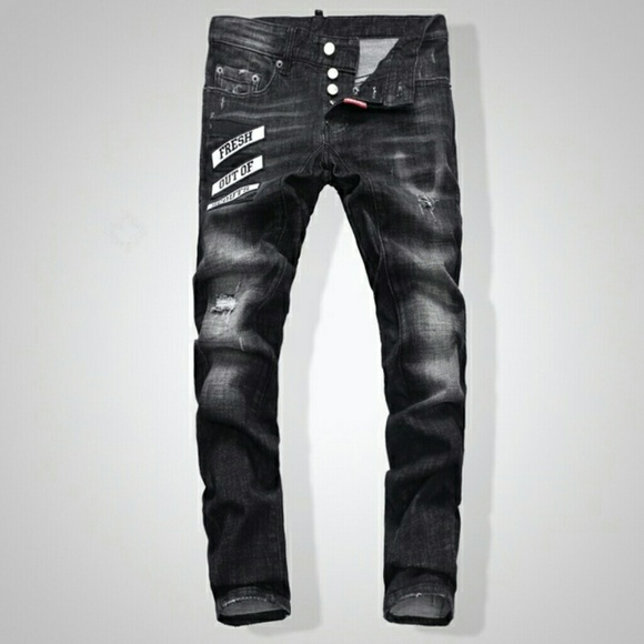 HOST PICK DSQUARED Jeans Black Size 31 NWT 986e318e7473